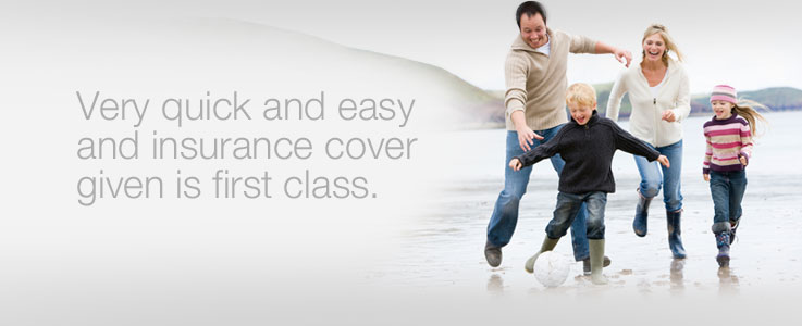 Very quick and easy and insurance cover given is first class