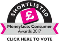 Moneyfacts Consumer Awards 2017 - Click here to vote