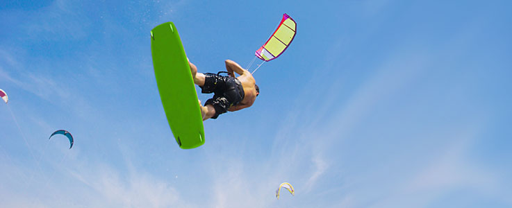 Kitesurfing travel insurance - World First