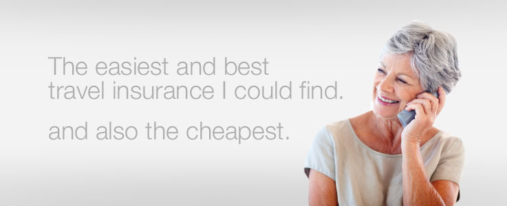 The easiest and best travel insurance I could find. And also the cheapest.