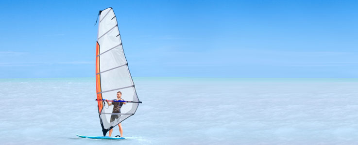 Windsurfing travel insurance - World First