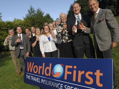 World First Travel Insurance celebrates business boom