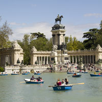 Explore the many attractions of lively Madrid