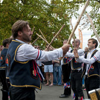 Morris dancing dates back to the 15th century