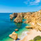 Praia da Marinha, near the resort town of Albufeira