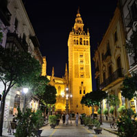 Climb La Giralda tower in central Seville
