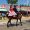 Seville hosts the Feria de Abril every spring