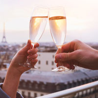 Fill your flutes in France