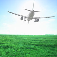 Jet off on an eco-friendly runway