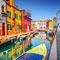 The colourful Italian island of Burano