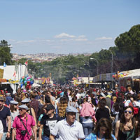 Madrid plays host to the San Isidro festival every May