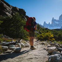 Hike the Torres del Paine National Park for breath-taking views