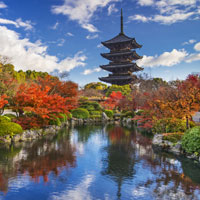 Japan is beautiful in the autumn