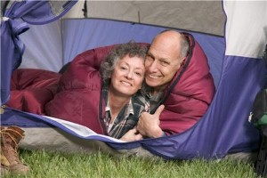 Camping holidays growing in popularity