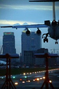 London City Airport improving in 2008