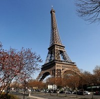 Paris was named travellers' number one holiday destination in a global poll