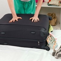 Many women pack so much for a holiday that they fill their own case and their partners' as well, research has shown
