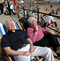 More older people are taking holidays, according to a study
