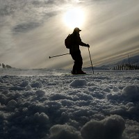 Skiiers have been urged to wear helmets on the slopes