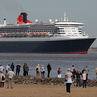 The Queen Mary 2 is currently on its 2013 World Voyage