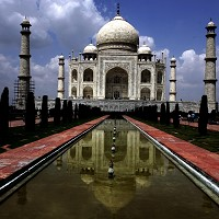 The Taj Mahal featured on many people's bucket list