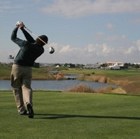 Golfers are being targeted by a campaign to attract them to the Algarve