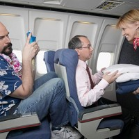 Reclined seats is a common bugbear for air travellers