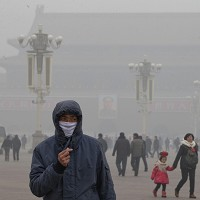 Dense smog has covered Beijing for the past three days
