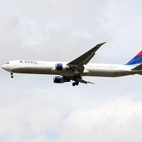 A Delta flight was forced to make an emergency landing after an engine failure