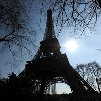 The Eiffel Tower: Helping France to be voted best country in a new poll