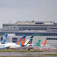 Gatwick airport saw a rise in passenger numbers in April
