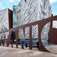 The Titanic Centre has had a similar impact on Belfast as the Guggenheim has in Bilbao