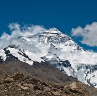 Mount Everest is the highest mountain in the world