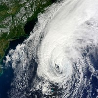 Hurricane Igor, which struck in 2010. Experts warn tropical storm Rafael is nearing hurricane strength
