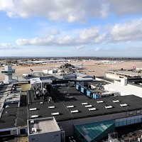 A number of flights were delayed at Manchester Airport following problems with fuel supplies