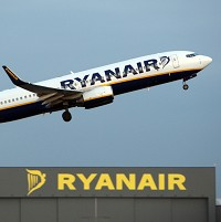 Budget airline Ryanair has been forced to suspend its Sicily service due to the aerial military operations against Libya
