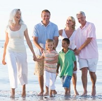 More grandparents are travelling abroad with their familes than before, according to Age UK
