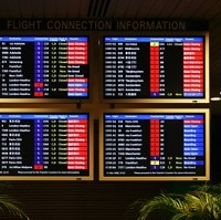 Many people saw their flight times affected after the pilots walked out