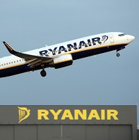 Ryanair has said that passenger numbers rose 6% year-on-year to 8.1 million in July