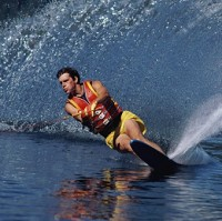 A water ski event in the US is expected to attract thousands of spectators