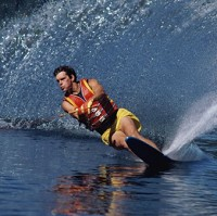 Nearly 100 water skiers marked 60 years of the Tommy Bartlett Ski Show