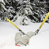 It's snow joke: learning to ski can be a painful process, involving plenty of bumps and bans to both body and ego