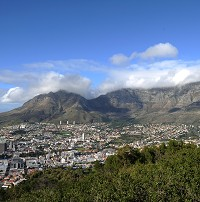 Cape Town was among many destinations in South Africa's record tourist year of 2010