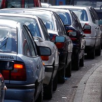 Traffic exhaust fumes are thought to exacerbate asthma through airway inflammation
