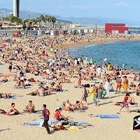 Spain has proved popular with British tourists this summer