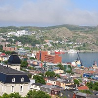 The flight diverted back to St John's, Newfoundland