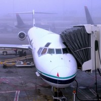 Low-visibility conditions led to the cancellation of approximately 120 flights at Heathrow airport