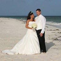 The number of couples choosing to marry in an exotic location has increased, it has been claimed