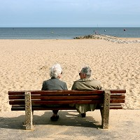 Beach holidays could be ideal for the over-60s, according to a report