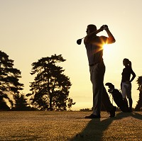 Many people enjoy golfing holidays overseas